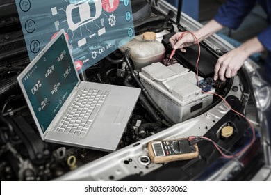 Engineering interface against mechanic using diagnostic tool on engine