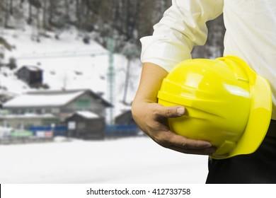 engineering management construction helmet