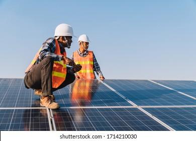 Ingenieurwissenschaften der Solarindustrie, Arbeit auf dem Sonnendach