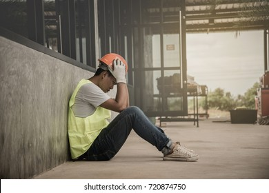 Engineering supervisor is very sad after end job