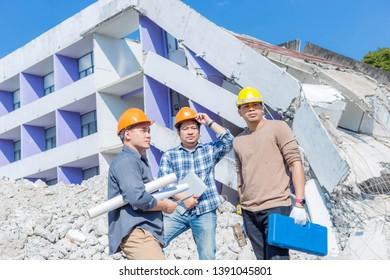 Engineering team built an office building.