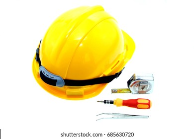 Engineering tool isolate on white background