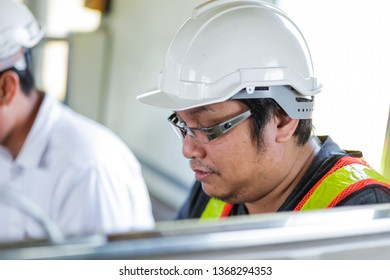 Engineering view That is checking work Do not intend at the time of precipitation. In front of the project
