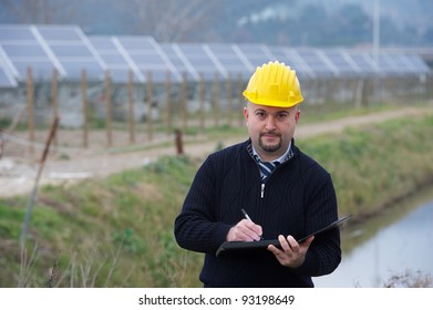 Engineers at Work In a Solar