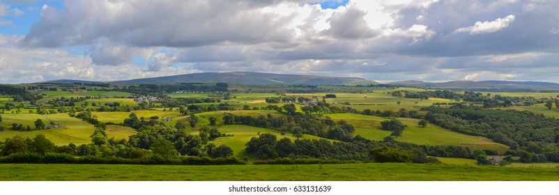 England Countryside Panorama