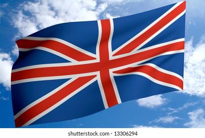 england flag british english blue red white