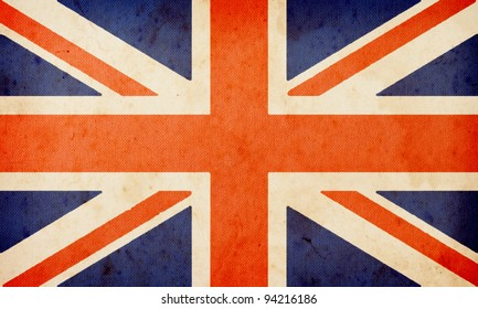 England flag ,grunge and retro