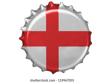 England flag painted on stopper