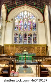 England, Leicester - 27 June 2016: Leicester Cathedral Lady Chapel