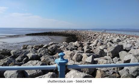 england sea landscape stones and coast