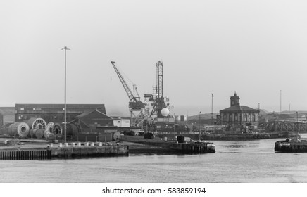 England, Sunderland - Feb 14, 2017: Sunderland Port D