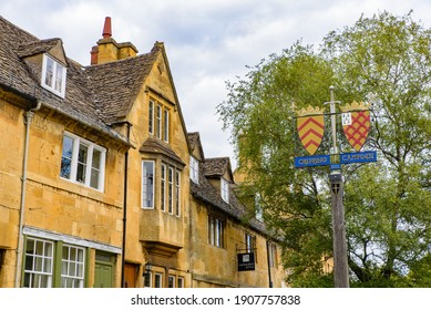 England, UK - September 07 2019: Chipping Campden, a small market town in Cotswolds area, England, UK