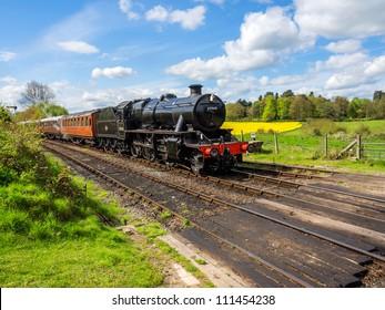 england worcestershire severn valley preserved steam railway arley station