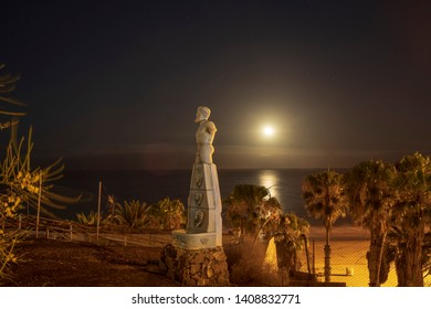 English beach at night, Gran Canarias, Spain 2019/05/21 - Shutterstock ID 1408832771