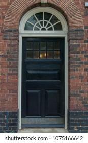 English Black Door