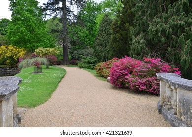 An English country garden in late springtime.