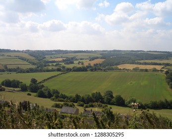 English countryside in the summer