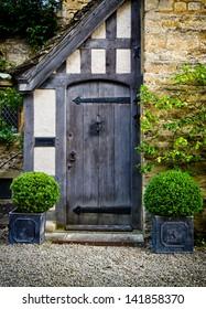 English door