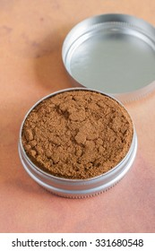 English dry snuff a smokeless tobacco made from ground tobacco leaves designed to be sniffed