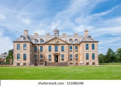 English manor from 17th century, Belton, UK