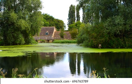 English Mill Pond and Watermill.