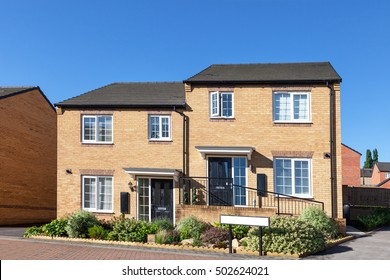 English semi detached houses