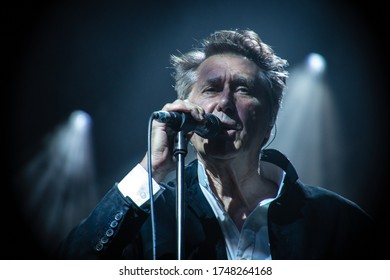 English singer and songwriter Bryan Ferry, live at standon calling festival uk, 29th July 2018,