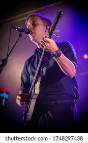 English singer and songwriter George Ezra performing live at Standon Calling Festival uk, 28th July 2018
