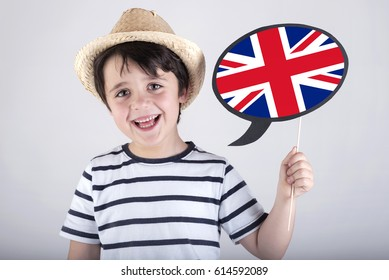 English speaking child