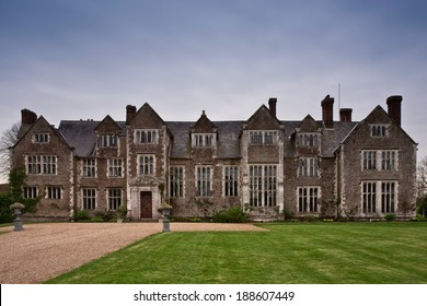 English Stately Home in Surrey, England.