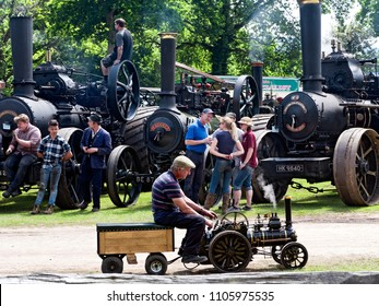 English Steam Fair, Sussex, 3 June 2018 - editorial use only