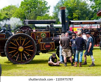 English Steam Fair, Sussex,  3 June 2018, editorial use only