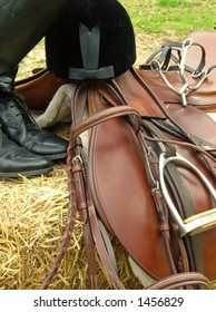 English style riding gear.