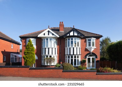 English traditional semi detached house