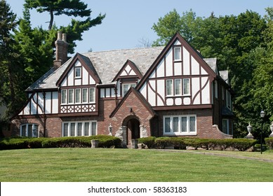 English Tudor Mansion