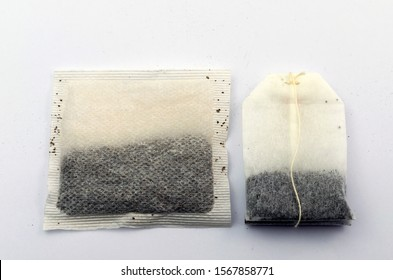English vs non-English tea. The tea bag size comparison. On the left - the typical English teabag. On the right - the typical European teabag. Secret of the taste is in size.