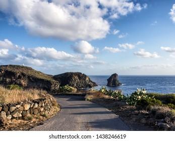 enjoy the beautiful landscape of the coasts of the island of pantelleria