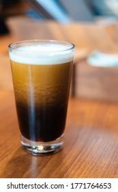 enjoy a nice cold brew coffee