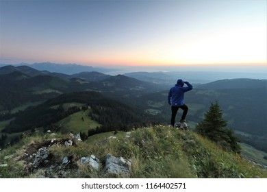 Enjoy the silence - Epic sunset close to Moléson, Switzerland