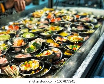Enjoy street food with many kind of steamed Chinese snacks, dim sum