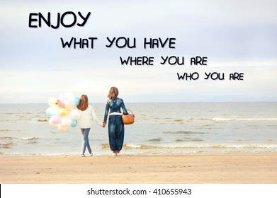 Mother Daughter Quote Stock Photos, Images & Photography ...