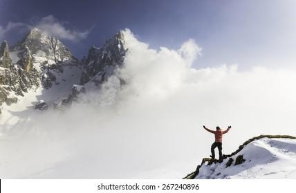 enjoy the winter landscape