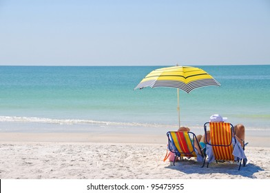 Enjoying a Day at the Beach