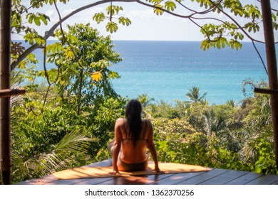 Enjoying the Ocean View