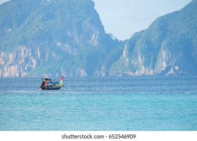 Enjoying weekend getaway and snorkeling at islands in Trang, Thailand