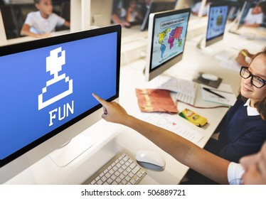 Enjoyment Entertainment Fun Game Concept