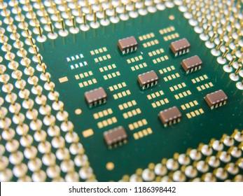 Enlargement of a microprocessor