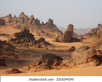The Ennedi Plateau, located in the northeast of Chad, in the regions of Ennedi-Ouest and Ennedi-Est, is a sandstone bulwark in the middle of the Sahara