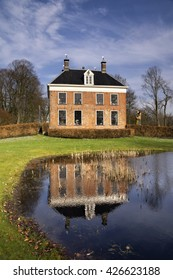 The Ennemaborg manor near Midwolda in the Dutch province Groningen