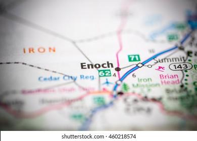 Enoch. Utah. USA